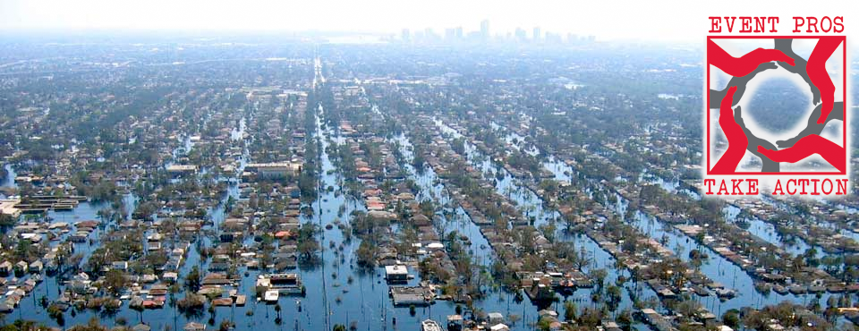 New Orleans devastated by Hurricane Katrina (2005)